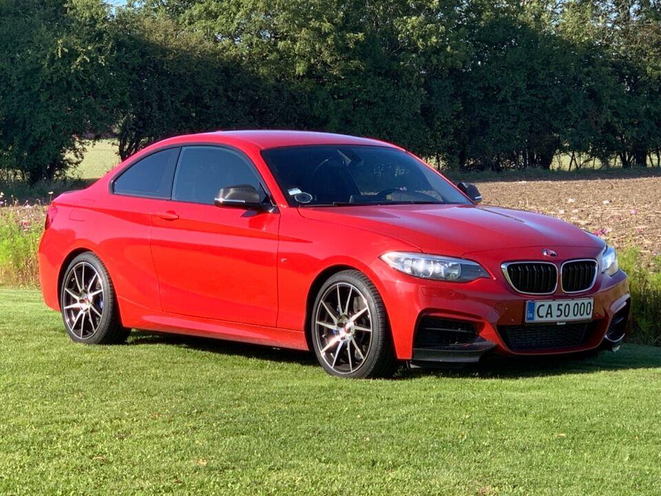 BMW M235i 3,0 Coupé aut. Benzin aut. Automatgear modelår