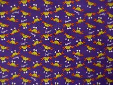 Free Spirit Crab  Cotton Quilt Flannel Beach David Wells Purple   Bfab