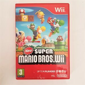 Details about New Super Mario Bros [Wii]-COMPLETE -4 Player Classic  Platform luigi brothers-u