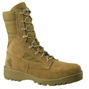Belleville-US-Marines-Corps-USMC-RAT-EAEC-Army-Boots-Boots-Coyote-12r