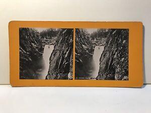 Suisse Chute Da La Nandeck Foto Stereo Vintage Analogica