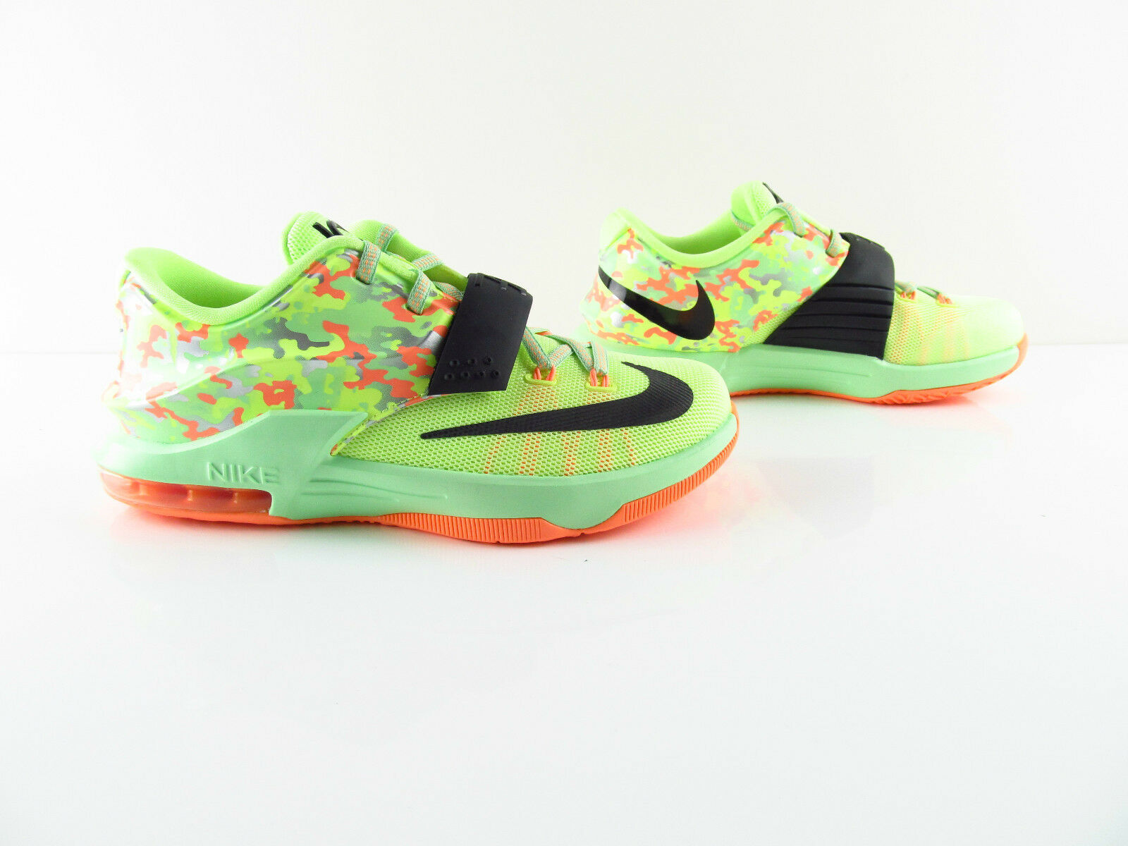 Nike KD VII Vapor Liquid Lime Sunset Glow Vapor VII Grün Sneaker Schuhe Eur_37.5 38.5 88172e