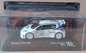 DIE-CAST-034-PEUGEOT-206-WRC-RALLYE-ACROPOLIS-2001-034-SCALA-1-43