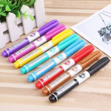 8 Colour Set Whiteboard Marker NonToxic Dry Erase EasyWipe Bullet Tip Pen Kid US
