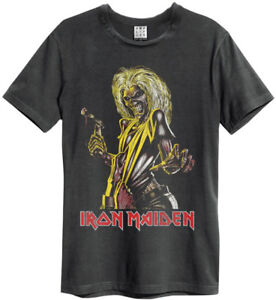 46cdc210567 Iron Maiden  Killers  T-Shirt - Amplified Clothing - NEW   OFFICIAL ...
