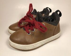 Zara Baby Toddler Boys Shoes 3024 Size EU 22 US 5 Brown ...