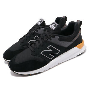 New-Balance-MS009-D-Black-Grey-Yellow-Mens-Lifestyle-Casual-Shoes-MS009OB1-D