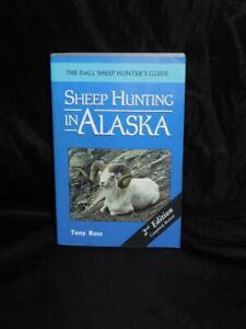 Sheep-Hunting-In-Alaska-Tony-Russ-Dall-Sheep-Hunter-039-s-Guide-Book-Hunt-AK
