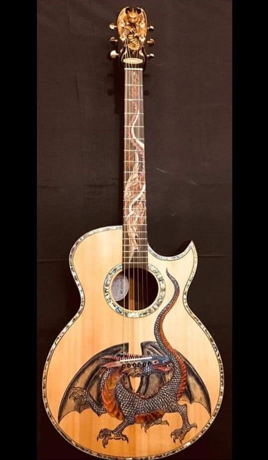 Blauberry Special Order Gr. Concert Guitar Fierro Masterpiece  90 Day Delivery