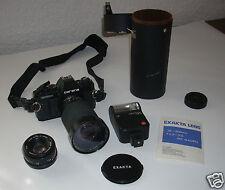 Carena CX-300  mit 2 Objektiven: Exakta MC Macro 28-200mm,f3,5-5,6; SuperCarenar