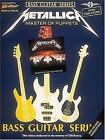 Metallica - Master of Puppets (Bass Guitar) : Play It Like It Is Bass (1988, Paperback)