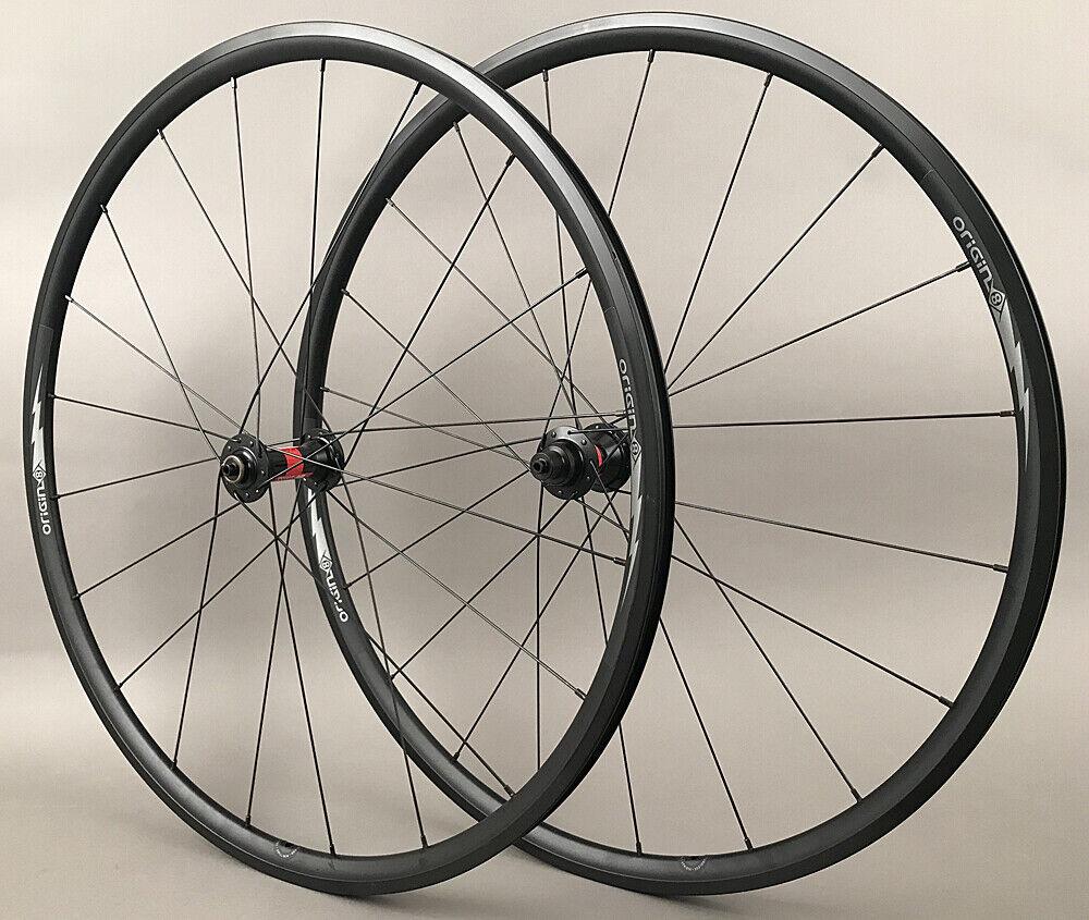 Image 1 - Bolt-Alloy-Rims-Dt-240-Road-Bike-Wheelset-8-11-Speed-Shimano-20-Spoke-1470-Grams