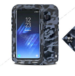 Coque-antichoc-SAMSUNG-Galaxy-S8-army-Etanche-LOVE-MEI-FRANCE-city