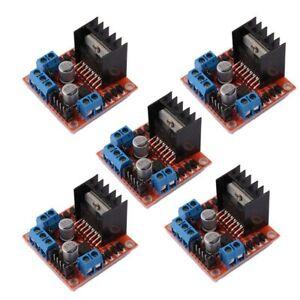 5-PCS-L298N-Motor-Drive-Controller-Board-DC-Dual-H-Bridge-Robot-Stepper-Mot-X3L2