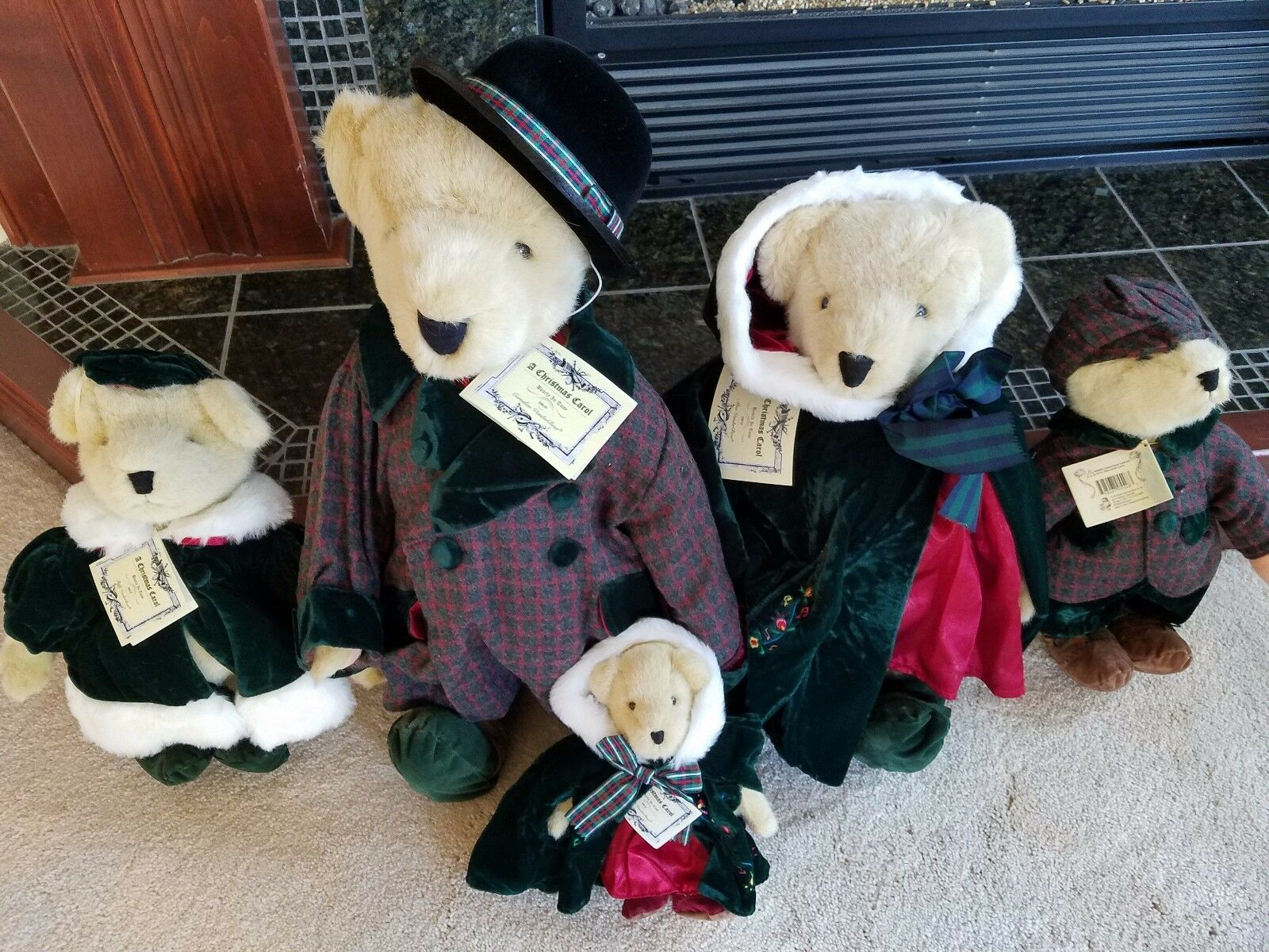 Cornelius, Alice,Fluffy,Fluffy,muffy,hoppy  A Christmas Carol  5 outfits only