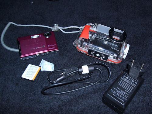 Underwater Camera: Fujifilm Z100fd and WP-FXZ100 housing