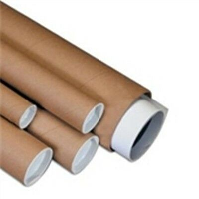 "3/""x48/"" Yazoo Premium Kraft Mailing Shipping Tubes 20//Ctn"