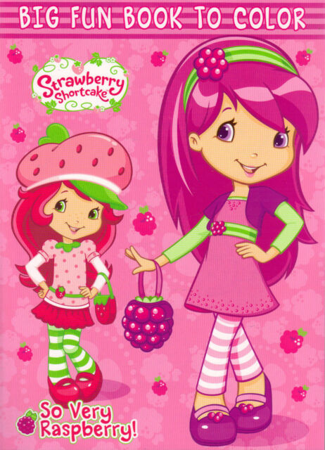 - Strawberry Shortcake - Coloring Book - So Very Raspberry - For Sale Online  EBay