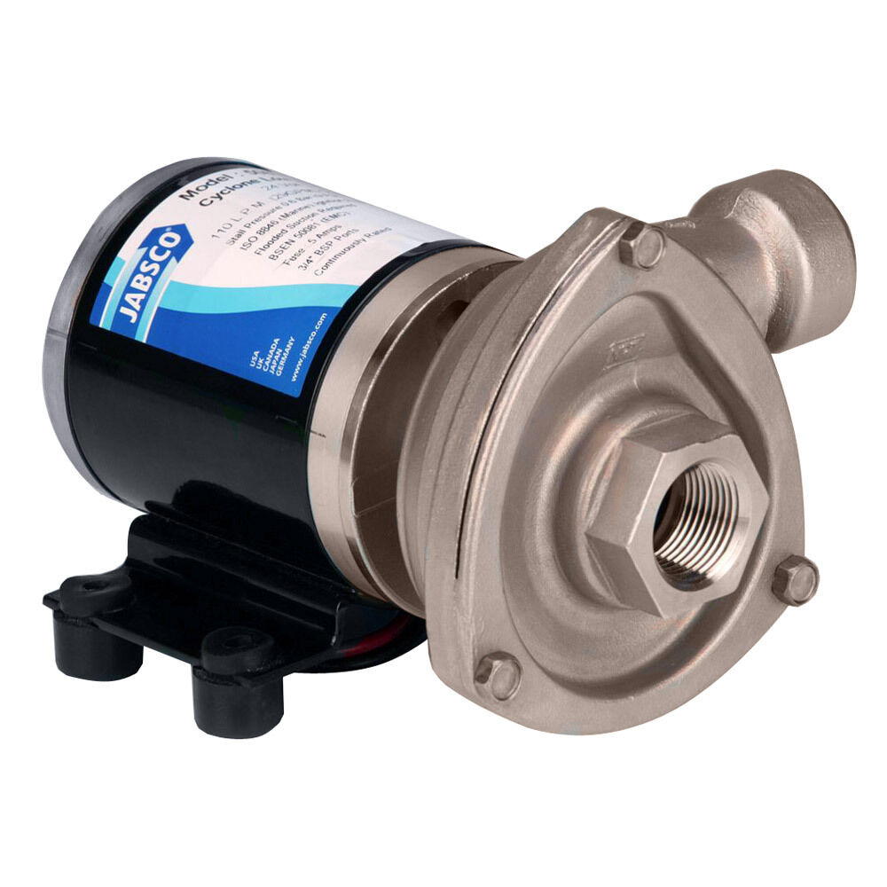 Jabsco Low Pressure Cyclon Centrifugal Pump - 12V model 50840-0012   counter genuine