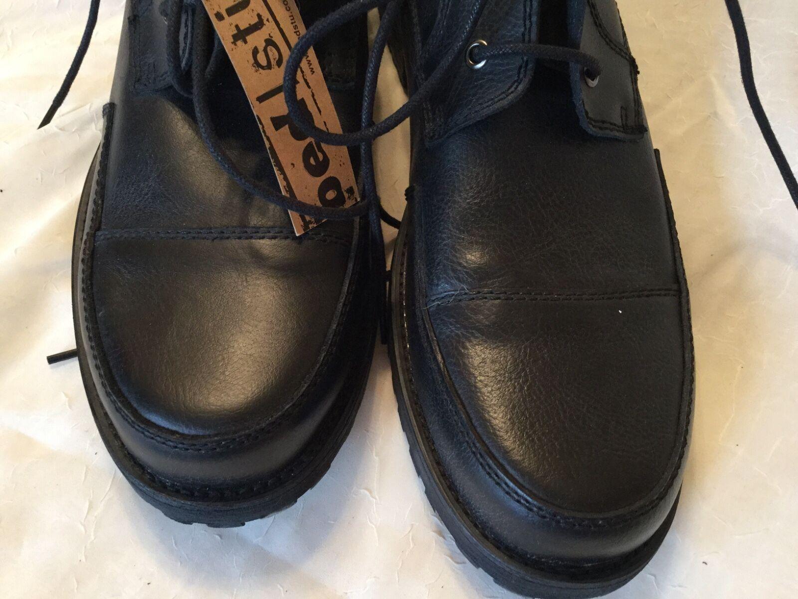 Gli uomini di pizzo nero della crostata stivali taglia taglia stivali 12 cm 31 scarpa b766f5