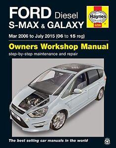 ford s max repair manual haynes manual workshop service manual 2006 rh ebay co uk 2003 Ford Focus Manual 2006 Ford Focus Sport