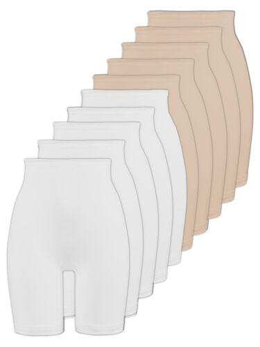 Skin Naturana 10er Sparpack Damen Langbeinschlüpfer 2204 Gr 40-54 Weiss