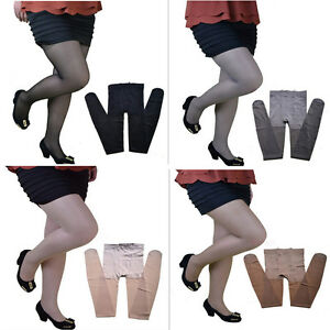 60828924cc5 Hot Sexy Women Lady Plus-size Sheer Pantyhose Stockings Maternity ...