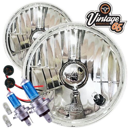 """AC Cobra REPLICA Cristallo Xenon RDX 7/"""" Conversione Alogena Faro Testa Lamp Kit"""
