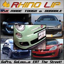 Fiat Palio 500 500e 500l Giardiniera Albea Rubber Chin Spoiler Splitter Rhinolip Fits Saturn Aura