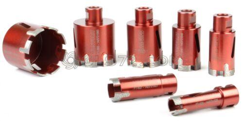 Diamond Core Bits sec et humide utilisation Connexion Cutter M14 Montolit mondrillo Commerce Équitable-S