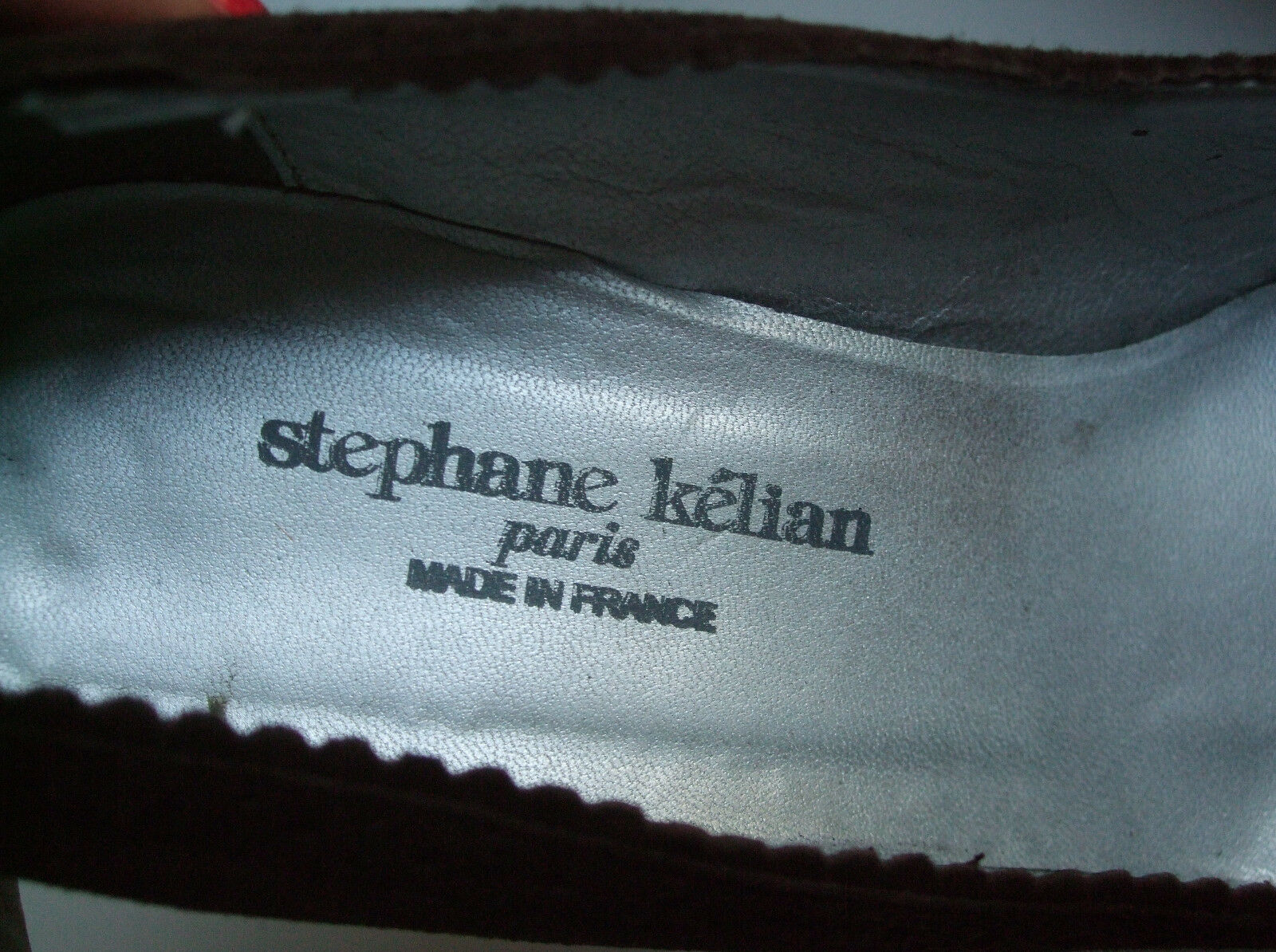 Stephane Kelian Größe UK 6 / 39 Damenschuhe Braun Braun Braun Suede Wedge High Heel Schuhes Wedges cce9e1
