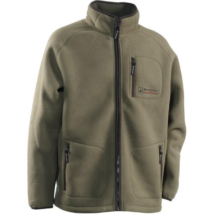 Deerhunter 5224  colville Fleece chaqueta  talla s 375 Ivy verde
