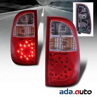 2000-2006 Toyota Tundra [single/access Cab Only] Led Tail Lights Rear Lamps Set on sale