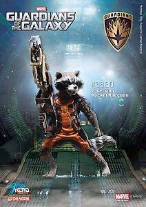 Modèles de dragon Gardiens de la galaxie - figure de vignette de héros de l'action de raton laveur 792491612410