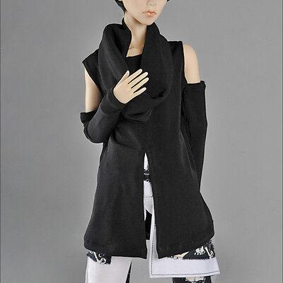 "Dollmore  1/3 BJD 22"" doll clothes  SD size  - ZC Cord T Shirt (Black)"