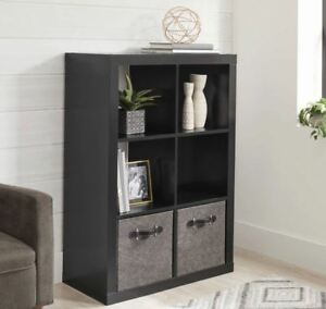 Details About Vinyl Record Storage Bin Rack Stand Shelf LP 6 Crate Album  Furniture Cabinet New