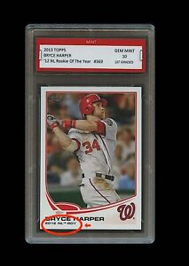 BRYCE-HARPER-TOPPS-ROOKIE-OF-THE-YEAR-CARD-1ST-GRADED-10-WASHINGTON-NATIONALS