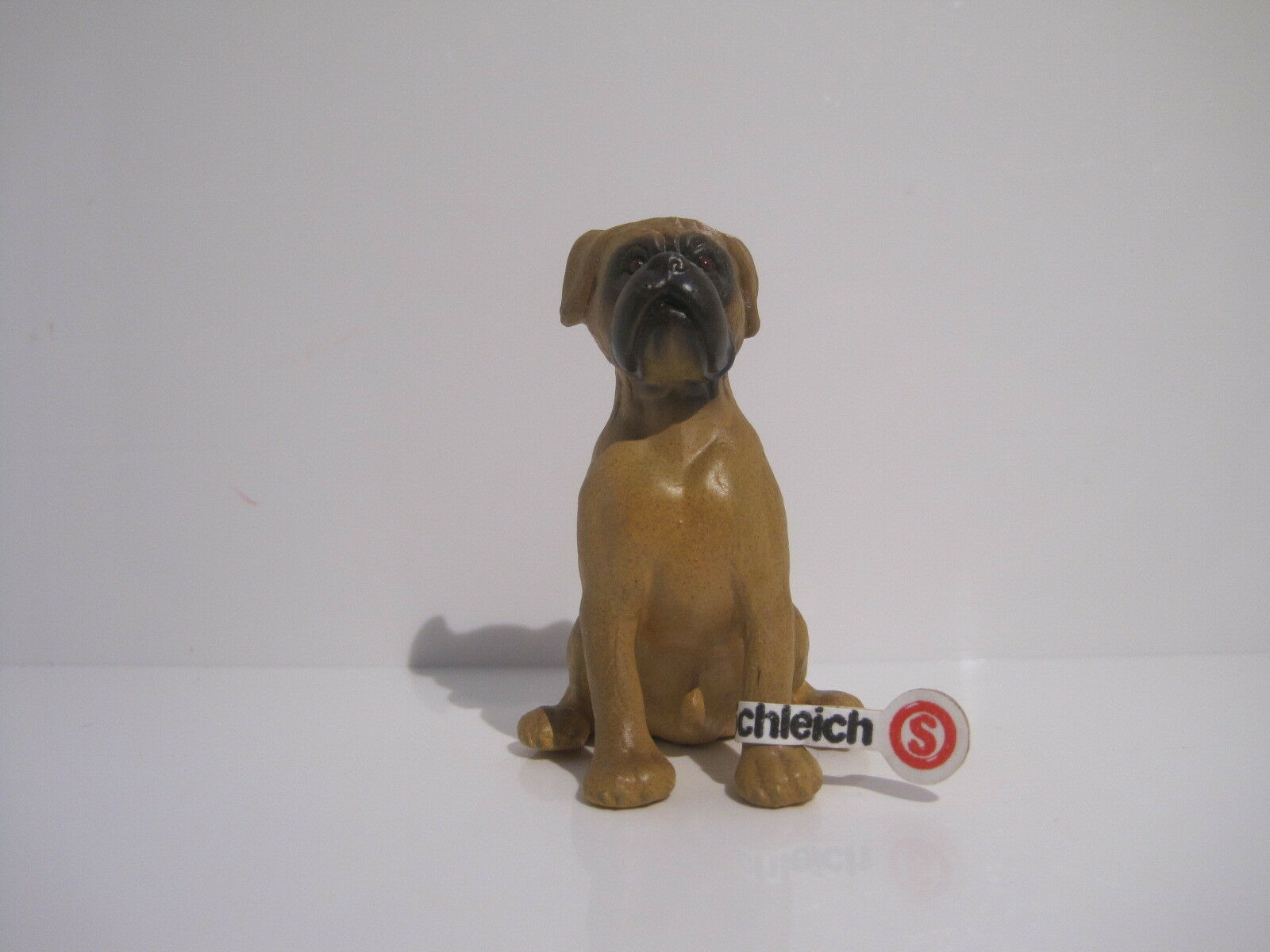 16303 -1  Schleich Dog: Boxer  with tag  MADE IN GERMANY  ref:1D340