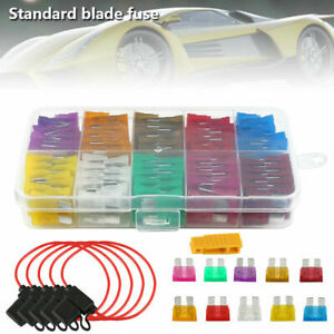 106-Standard-Blade-Car-Fuses-2-35-A-Assorted-Set-Inline-Fuse-Holder-Splash-Proof