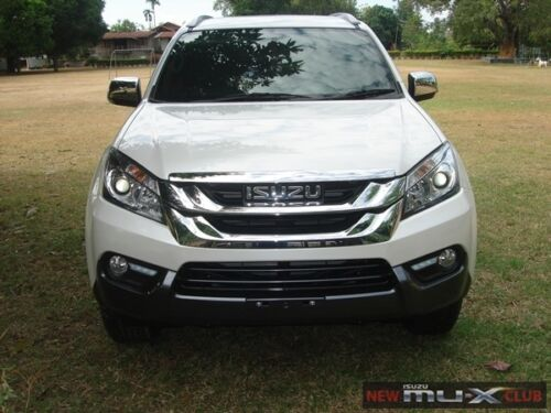 4 Door Black Visor Weather Guard Windshield For Isuzu Mu-X 2014 Suv