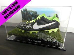 Signed-GARRY-LYON-Football-Boot-PROOF-COA-Melbourne-Demons-2019-Guernsey