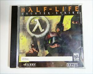 Half-Life-Counterstrike-Jewel-Case-CDROM-2000-PC-Windows-W-CD-key-no-Manual