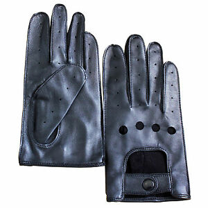 Jasmine-Silk-Ladies-039-Luxury-Genuine-Lambskin-Leather-Driving-Gloves
