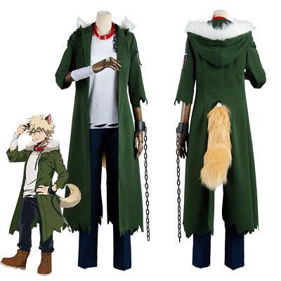 My Boku no Hero Academia Katsuki Bakugou Halloween Costume Cosplay Outfit  Coat