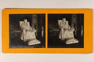 Francia París Versailles Estatua De Napoleón 1er c1900 Foto Estéreo Vintage