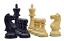 ROOGU-Old-English-Series-3-5-039-039-Staunton-Jeu-d-039-echecs-Bois-4x-Dames-Fait-Main miniature 2