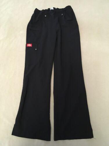 Dickies Active Scrub Pants Xs Womens Black Cargo S