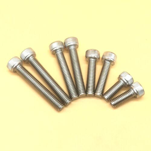 "Stainless Steel Select Size 7//16/""-14 to 3//4/""-10 Allen Hex Socket Head Cap Screws"