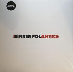 INTERPOL-Antics-2004-10-track-vinyl-LP-album-download-NEW-SEALED