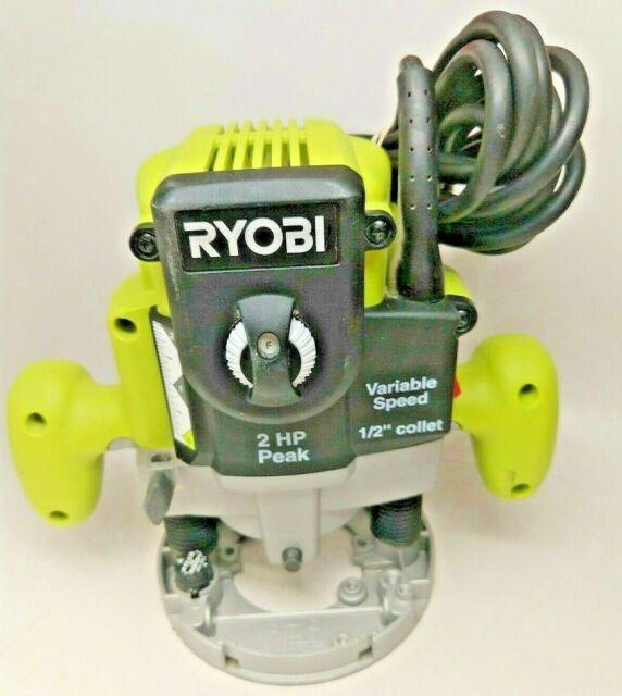 Used RYOBI RE180PLG ROUTER/BASE #166060-2   eBay